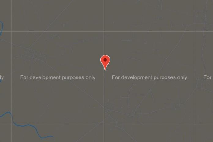 Google Map ขึ้นข้อความ For development purposes only